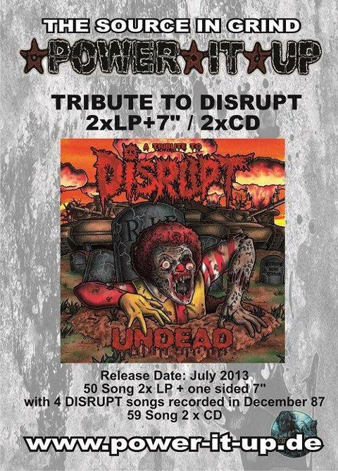 "DISRUPT TRIBUTE ""UNDEAD"""